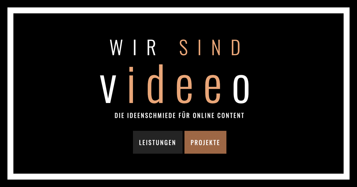 Hauptsponsor videeo.eu
